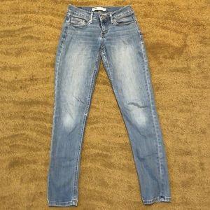 Levi's 524 Skinny Jeans - Size 3